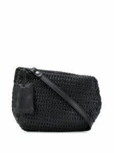Marsèll woven shoulder bag - Black