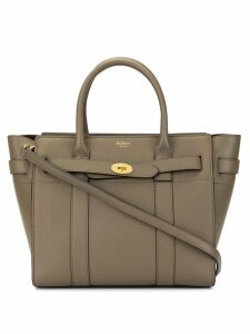 Mulberry small zip Bayswater tote - Brown