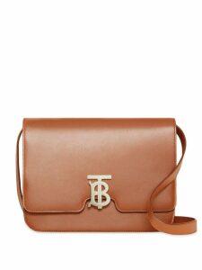 Burberry Medium Leather TB Bag - Brown