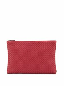 Bottega Veneta woven pouch - Red