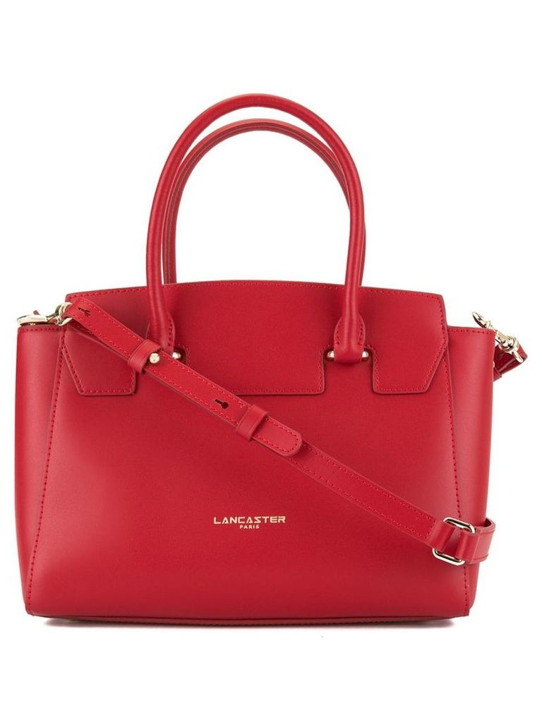 Lancaster Camelia Smooth tote bag - Red