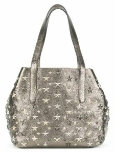 Jimmy Choo Star studded tote - Grey