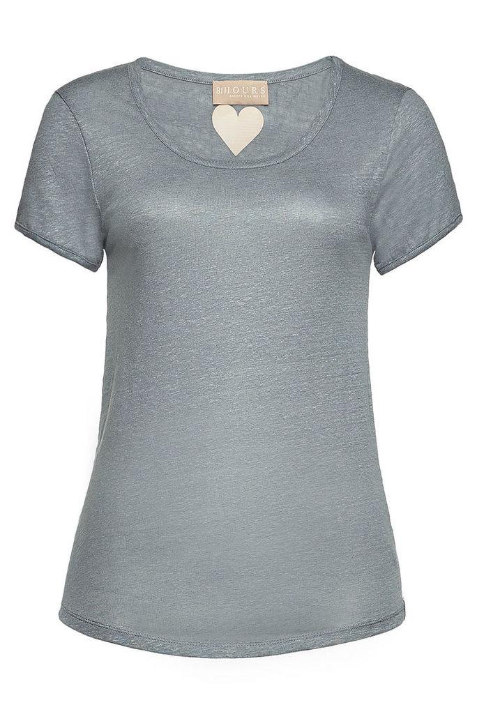 81 Hours Perry Linen T-Shirt