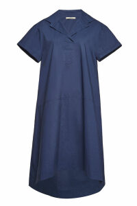 ODEEH Cotton Midi Dress