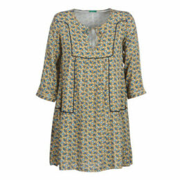 Benetton  ROBY  women's Dress in Grey
