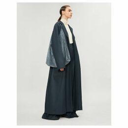 Amoy wool-twill coat