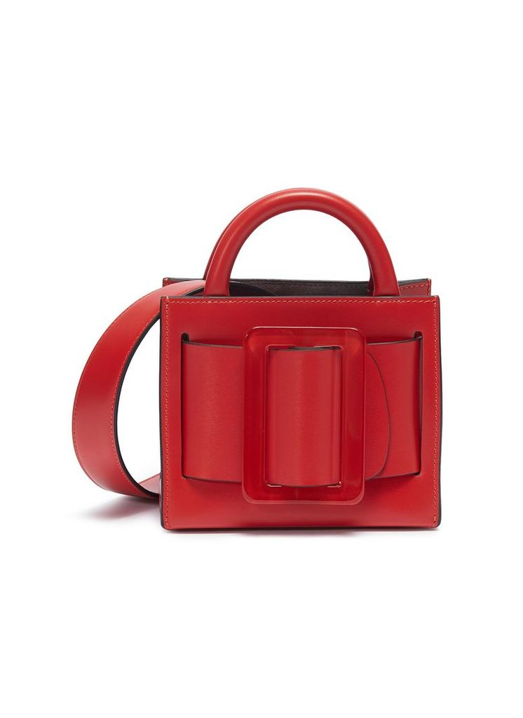 'Bobby 16' buckled leather tote