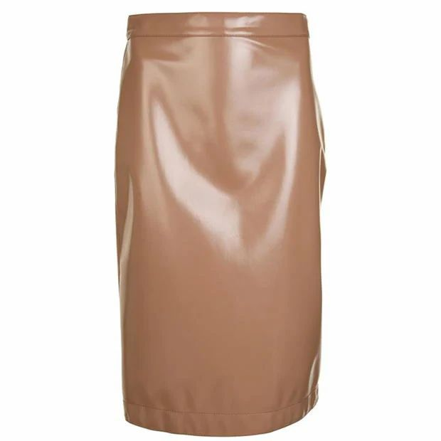 BURBERRY Vinyl Skirt