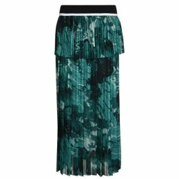 VICTORIA BY VICTORIA BECKHAM Mixed Pleat Skirt