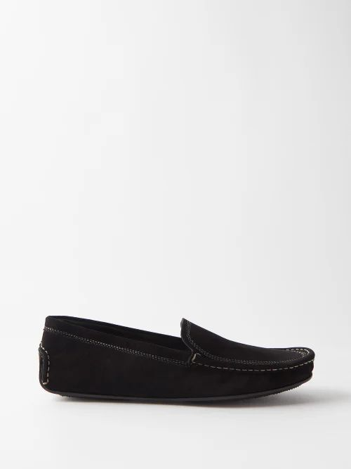 Etro - Paisley Print Cotton Midi Skirt - Womens - Light Blue