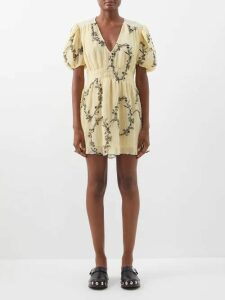 Connolly - Oversized Wool Coat - Womens - Beige Multi