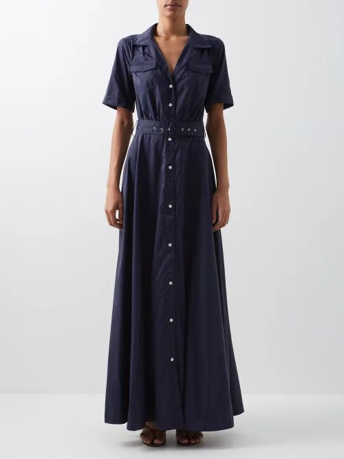 4 Moncler Simone Rocha - Floral Appliqué Puff Sleeve Parka - Womens - Black