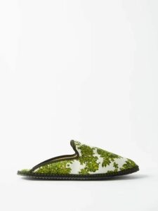 Toga - Gathered Crinkled Satin Skirt - Womens - Red