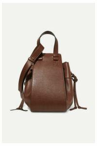 Loewe - Hammock Medium Leather Shoulder Bag - Chocolate