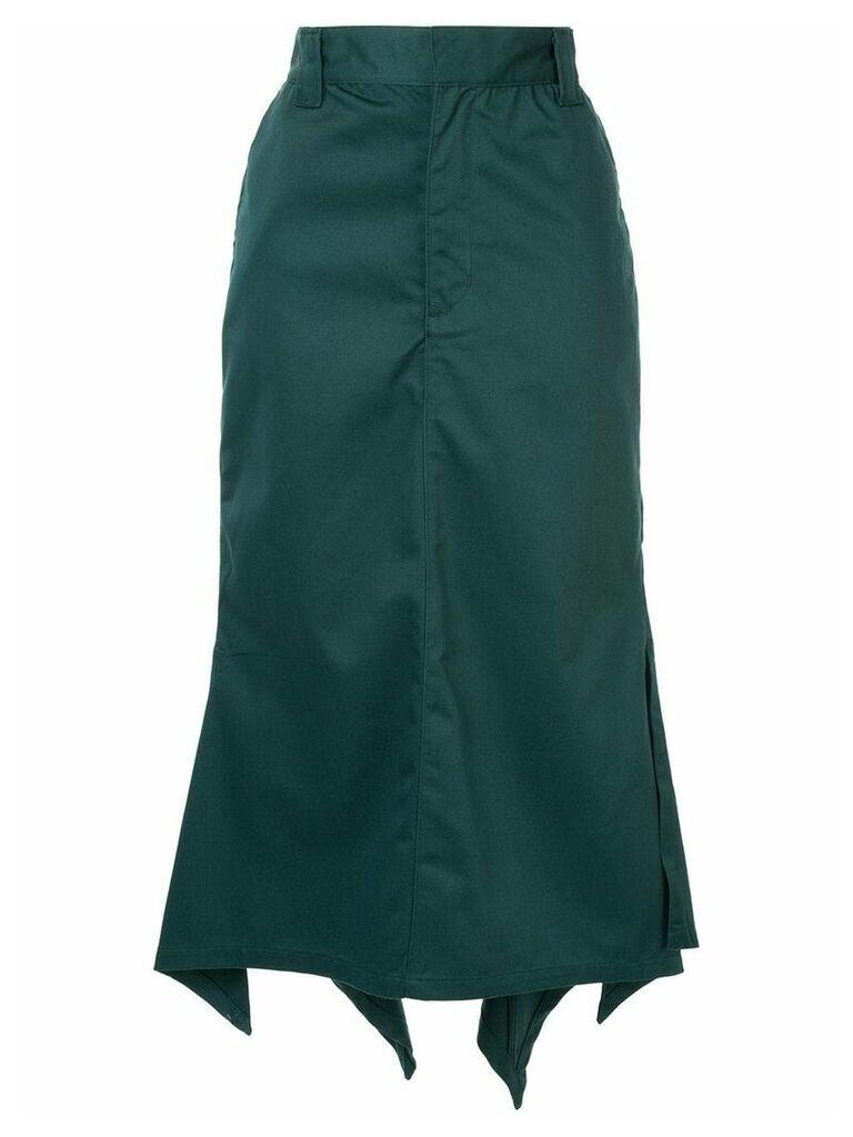 G.V.G.V. handkerchief hem skirt - Green