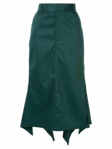 G.V.G.V. handkerchief hem skirt - Green