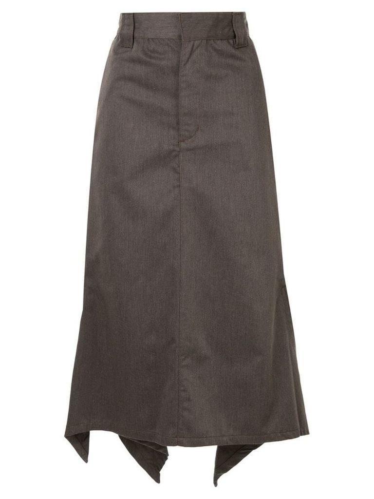 G.V.G.V. handkerchief hem skirt - Brown