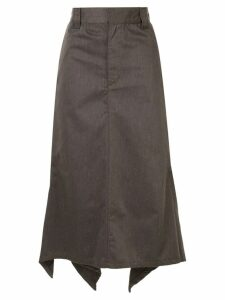 G.V.G.V. handkerchief hem skirt - Brown