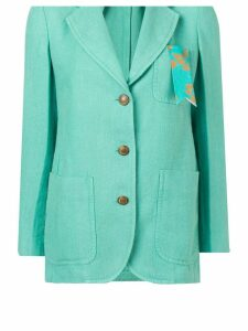 The Gigi single breasted blazer - Green