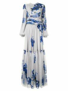 Costarellos floral maxi dress - Grey