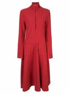 Rosie Assoulin striped flared dress