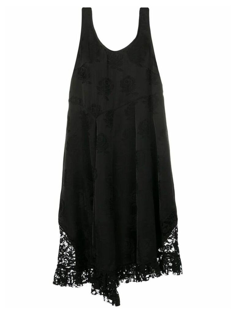 Kenzo Roses lace dress - Black