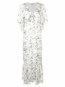 We Are Kindred Frenchie tie front dress - White