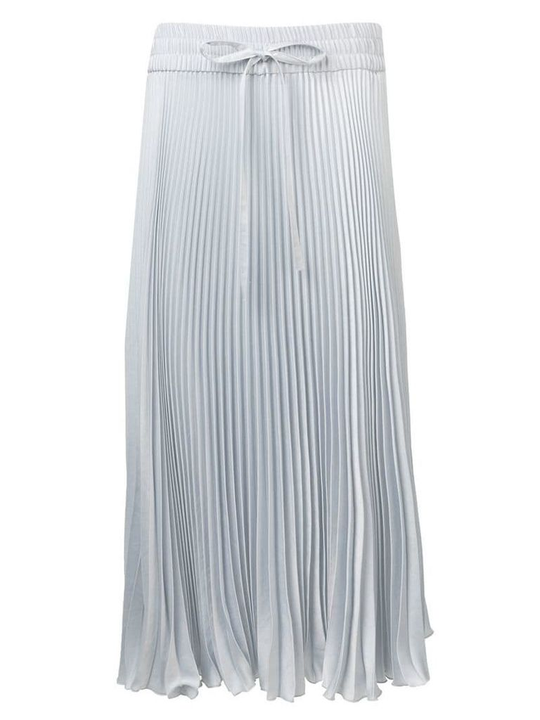 Red Valentino pleated skirt - Blue