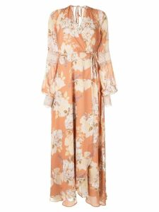 We Are Kindred Nellie wrap dress - Orange