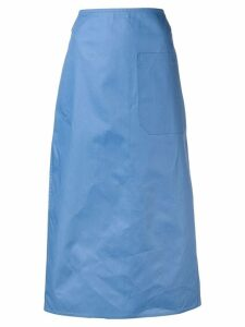 Sofie D'hoore A-line pocket skirt - Blue