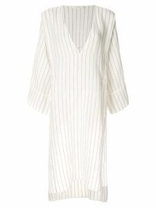 Seya. classic summer dress - White