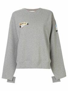 Ports 1961 patch detail sweatshirt - Grey
