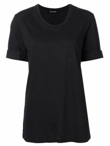 Neil Barrett turn up cuff T-shirt - Black
