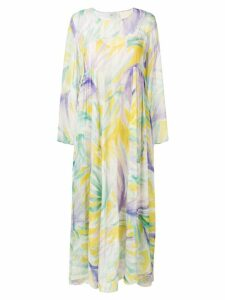 Forte Forte Panarea full length dress - Yellow