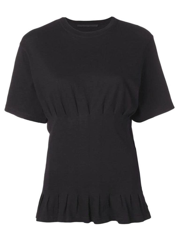 Haider Ackermann tight waist t-shirt - Black
