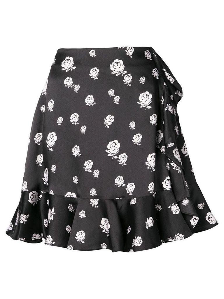 Kenzo Roses skirt - Black