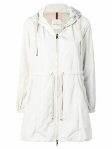 Moncler zipped trench coat - Neutrals