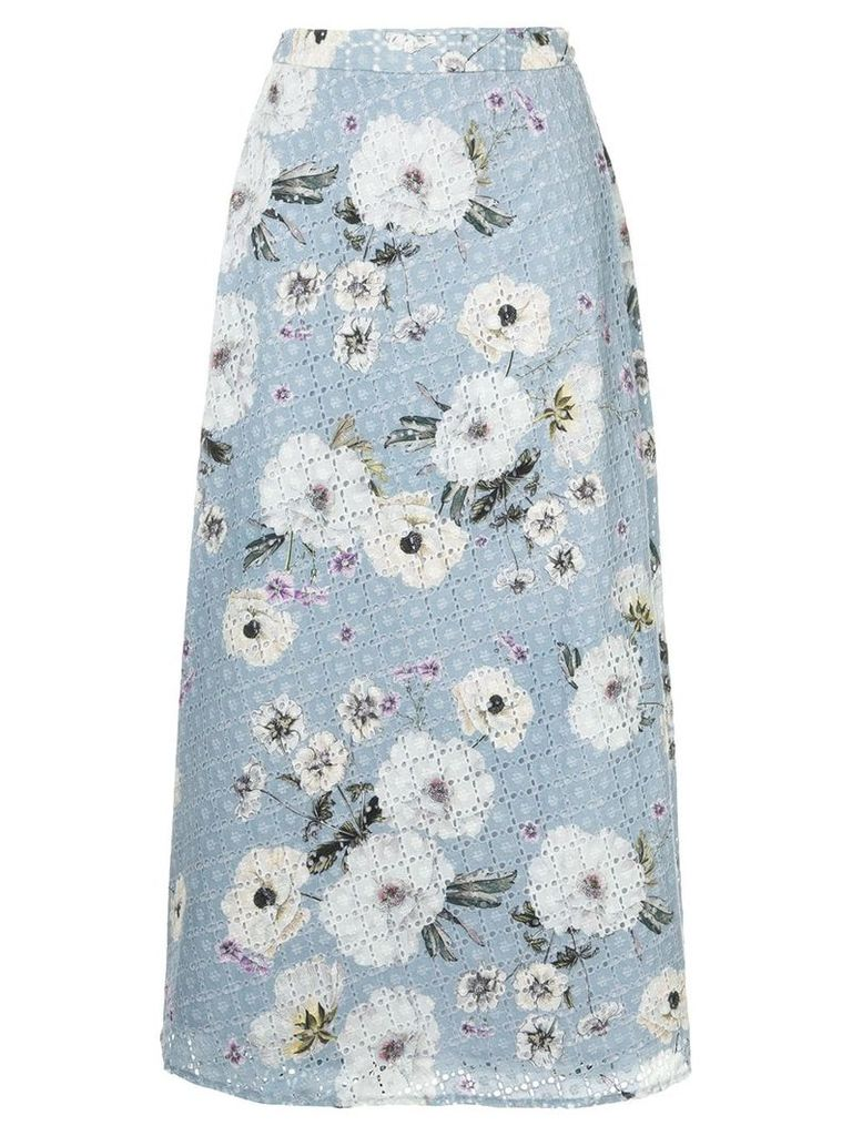 We Are Kindred Sookie midi skirt - Blue