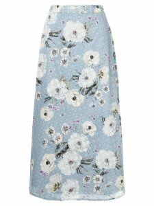 We Are Kindred Sookie midi skirt - Blue
