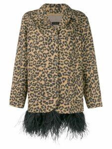 Simonetta Ravizza leopard print blazer - Brown