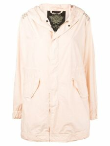 Mr & Mrs Italy hooded parka coat - Pink