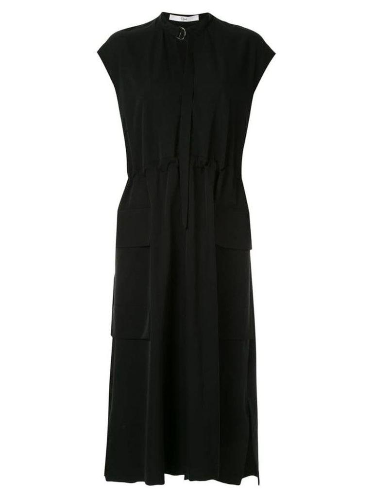 Ujoh gathered dress - Black
