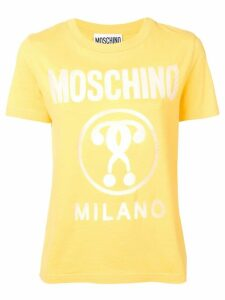 Moschino logo print T-shirt - Yellow