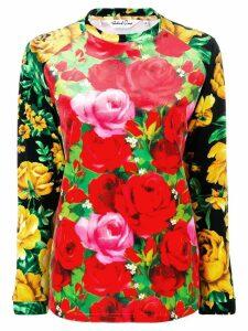 RICHARD QUINN floral print jumper - Red