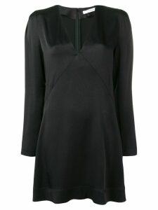 Givenchy empire line V-neck dress - Black
