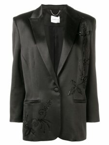 Magda Butrym embroidered blazer - Black