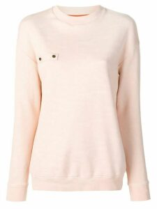 Mr & Mrs Italy crew neck sweatshirt - Pink