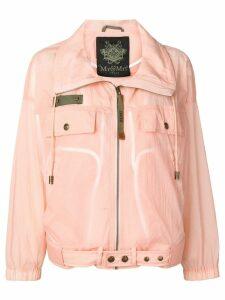 Mr & Mrs Italy waterproof zipped jacket - Pink