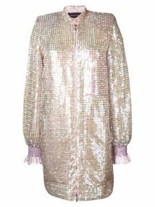 Talbot Runhof Sokoto sequinned dress - Pink