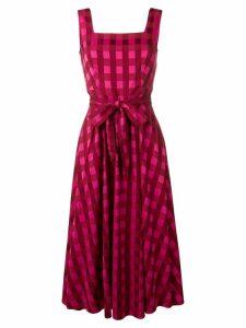 Temperley London Stirling midi dress - PINK